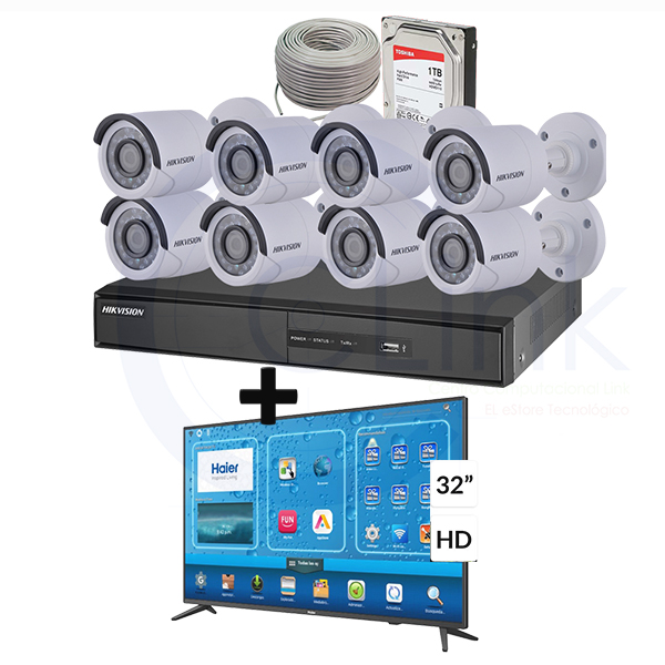 kit 8 cámaras HD