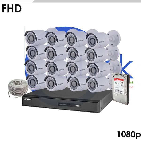Kit 1080p 16 Cámaras