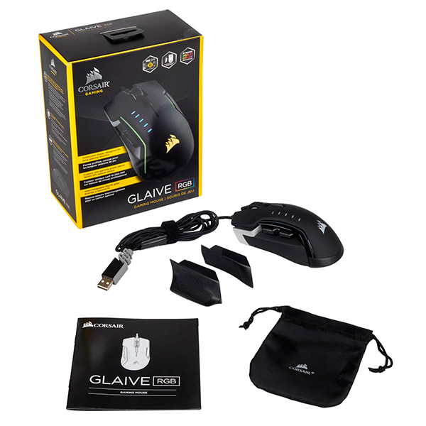 Mouse Gamer Corsair GLAIVE-6