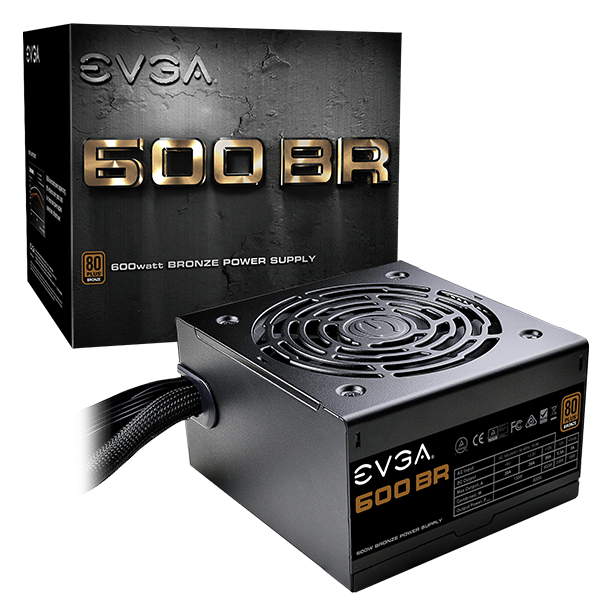 EVGA 600W 80Plus Bronze BR